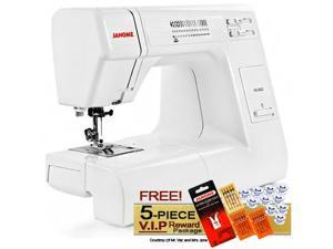 Janome HD3000 Heavy Duty Sewing Machine with 5-Piece V.I.P Reward Package