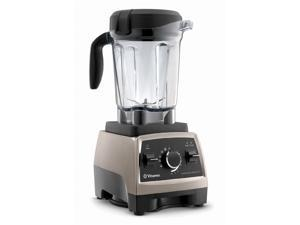 Vitamix Upgraded Pro Series 750 Heritage Brushed Stainless Finish with 64oz Container and Cookbook