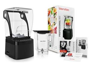 Blendtec Professional 800 Blender with BPA-Free WildSide+ Jar + Blending 101 Quick-Start Guide and Recipes + Owner's Manual and User Guide!