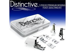 Distinctive 7-Piece Premium Sewing Foot Quilting Package