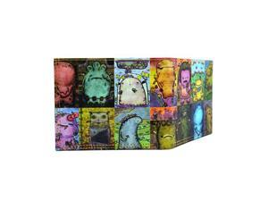 Tyvek Ultrathin Water / Tear-Resistant Wallet, Monster Eden