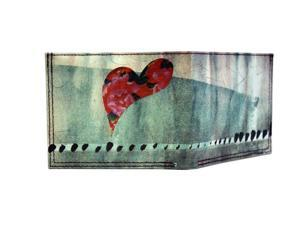 Tyvek Ultrathin Water / Tear-Resistant Wallet, Heart Fantasy