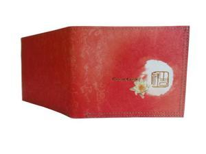 Mighty Tear-resistant Wallet - Chinese Calligraphy with Extended Lotus Blessing