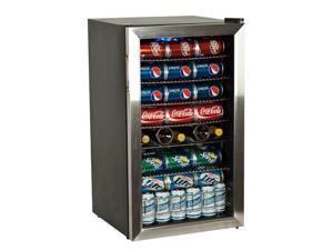 EdgeStar BWC120SS 103-Can 5-Bottle Stainless Steel Beverage Cooler