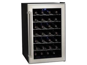 Koldfront 28-Bottle Ultra Capacity Thermoelectric Wine Cooler, Platinum