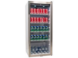 EdgeStar 8.6 Cu. Ft. Commercial Beverage Merchandiser - White and Stainless Steel