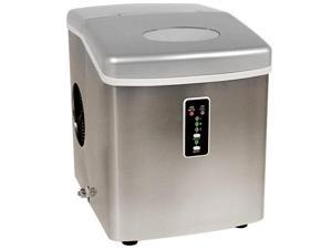 EdgeStar Portable Ice Maker - Stainless Steel