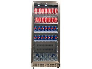 EdgeStar 11.2 Cu. Ft. Built-In Commercial Beverage Merchandiser