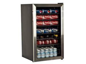EdgeStar BWC120SS 103-Can 5-Bottle Stainless Steel Beverage Cooler