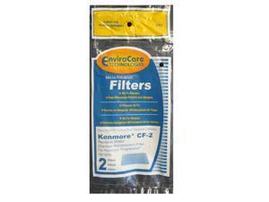 EnviroCare Kenmore CF-2 CF2 Vacuum Filters for 4370432 86884 910 2086884 610488 2 Pack