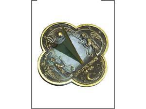 Rome Industries Brass Sundial - Angel