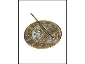 Rome Industries Brass Sundial - Thoreau