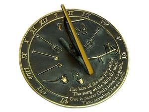 Rome Industries RM2307 Brass Sundial - Kiss of the Sun