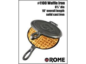 Rome Industries 1100 Old Fashioned Waffle Iron - Cast Iron