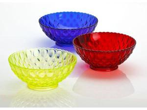 Mosser Glass Elizabeth Style Fluted Fruit Bowl, 10.25 Inches