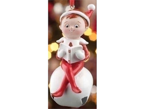 Jingle Buddy Elf Ornament by Elf on the Shelf