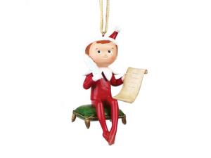 Elf on the Shelf 4-Inch Hanging Ornament