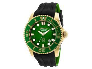 Invicta Men's 20202 Pro Diver Automatic 3 Hand Green Dial Watch