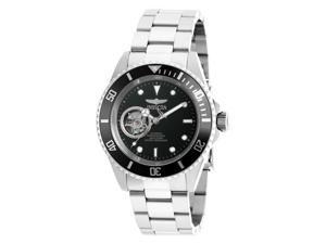 Invicta Men's 20433 Pro Diver Automatic 3 Hand Black Dial Watch