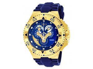 Invicta Men's 18558 Excursion Quartz Multifunction Blue Dial Watch