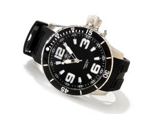 Invicta Men's 1670 Specialty Quartz 3 Hand Black Dial Watch