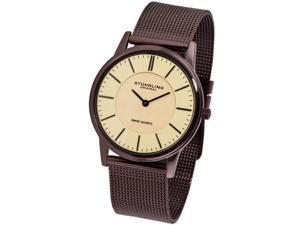 Stuhrling Unisex 238 3261K77 Classic Newberry Swiss Quartz Bronze-tone Watch
