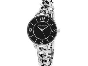 Stuhrling Original Women's 588 02 Vogue Analog Display Quartz Silver Watch