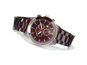Invicta 11265 Men's Brown Ceramic Swiss Chronograph Brown Dial Day Date Watch