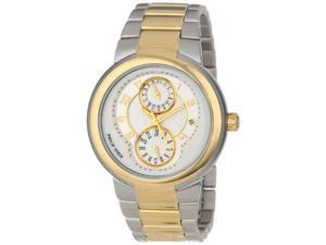Philip Stein 31TG-AGW-TGSS Women's Active Two-Tone Gold Plated Bracelet Watch