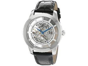 Invicta 22570 Men's Vintage Automatic Stainless Steel and Leather Casual Watch