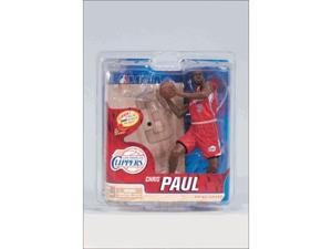 Mcfarlane NBA Series 21 Chris Paul Los Angeles Clippers Red Jersey