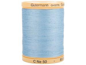 Natural Cotton Thread Solids 876 Yards-Carolina Blue