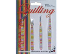 Tweezer Set 4 Piece-Rainbow