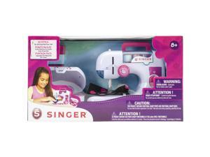 SINGER EZSTITCH chainstitch battery operated sewing machine and sewing kit