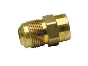 Brass Craft MAU1-10-8 Bulk Gas Connector Fittings-5/8ODX1/2F GAS FITTING