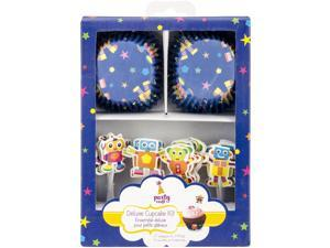 Party Craft Deluxe Cupcake Box Set Makes 24-Bleep-Blorp