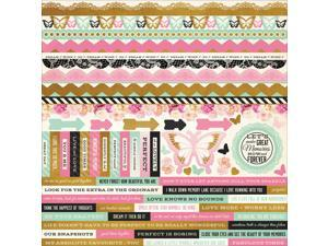 "All That Glitters Cardstock Stickers 12""X12""-"