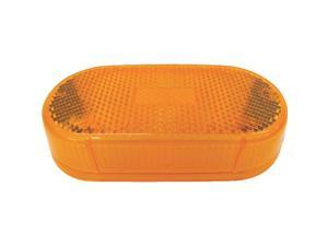 Peterson Mfg. 108-15A Replacement Lens-AMBER REPLACEMENT LENS