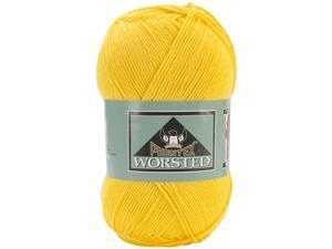 Phentex Worsted Solids Yarn-Sol (yellow)
