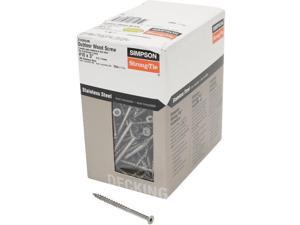 Stainless Steel Bugle Head Screw-5LB SS 10X3 DECK SCREW