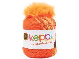 Keppi Yarn-Orange Fizz - Sparkle