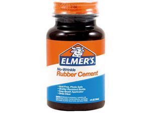 Elmer's Prod. E904 Rubber Cement Adhesive-4OZ RUBBER CEMENT