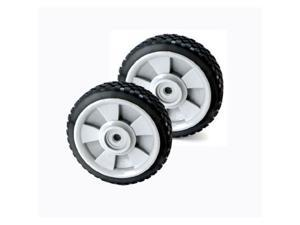 "Black and Decker # 242600-00 7"" Replacement Mower Wheels 2-PACK"