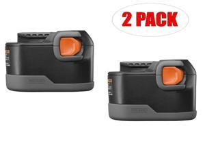 Ridgid CS1226 Replacement 9.6-Volt Ni-Cd Battery (2 PACK) # 130252007-2PK