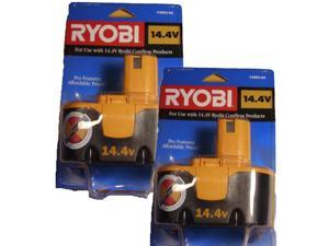 Ryobi HP1442M Drill Replacement 14.4V Ni-Cad Battery (2 Pack) # 1400144