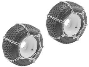 Oregon (2 Pack) 67-011 Snow Chains W/4-Link  Size 23X950-12 & 23X1050-12