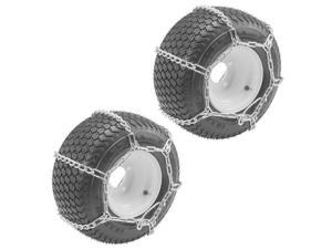 Oregon (2 Pack) 67-024 ATV 25X1300-9 Tire Snow Chains With 4-Link Spacing