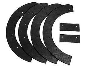 Oregon 73-001 Snow Thrower 6-Piece Paddle Set Replace Snapper 6-0631