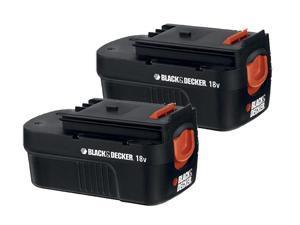 Black & Decker HPB18 Replacement (2 Pack) 18V Battery # 90553604-2pk