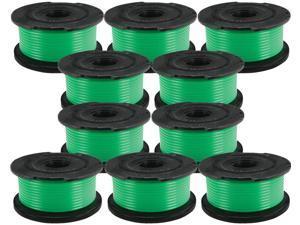 Black & Decker (10 Pack) SF-080 Auto Feed Spool Single Line Trimmer Fits GH3000